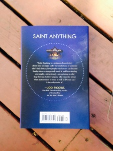 saint anything back